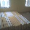 Half the order of flooring