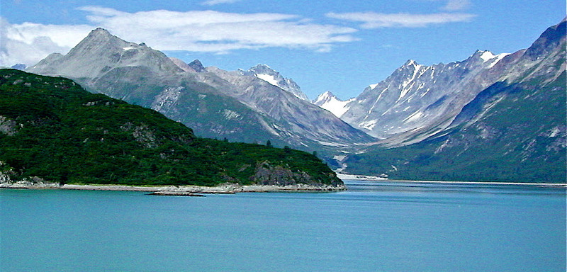 Mountains of Glacier Bay, Alaska