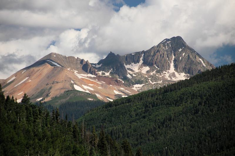 Peaks near Purgatory, Colorado