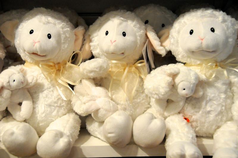 Talking Lambs of FAO Schwartz
