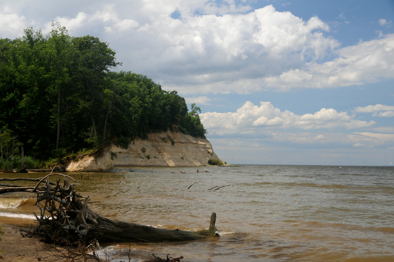 Cliffs on the Potomac, Westmoreland State Park, Virginia