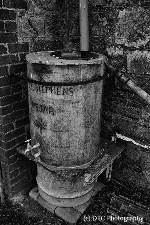 Old water tank, St Stephens church