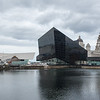 Old and new on the Pierhead Liverpool.