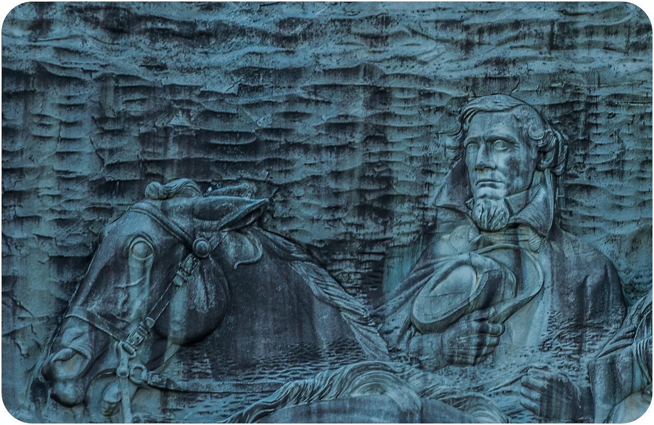 Confederate Memorial Carving