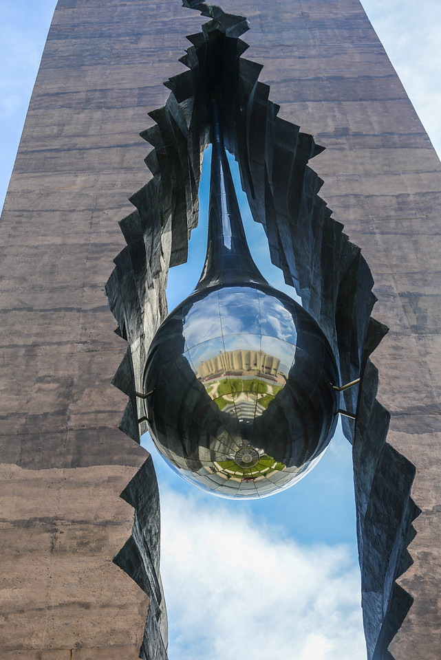 Tear Drop Monument