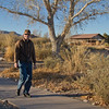 Steve at Bosque del Apache National Wildlife Refuge, New Mexico. December 2013.