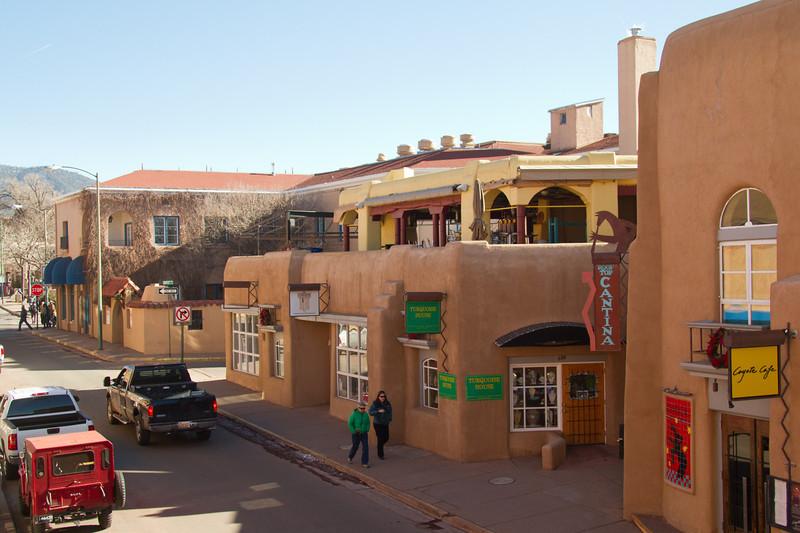 Views around Santa Fe, New Mexico. December 2013.