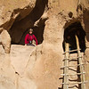 Bandelier National Monument, New Mexico. December 2013.