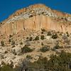 Countryside around Santa Fe, New Mexico. December 2013.