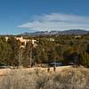 Neighborhoods around Santa Fe, New Mexico. December 2013.