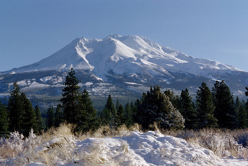 Mt. Shasta, northern California. 12/27/03.