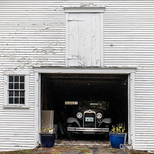 Old Barn & Car