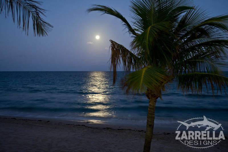 """Full Moon on the Ocean"" (Ft. Lauderdale, Florida)"