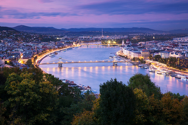 View From Gellert Hill, Budapest