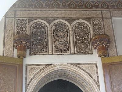 474_Marrakech_Palais_El_Bahia_Stuc_Scuplte_ou_cisele