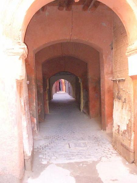 455_Marrakech_Le_Mellah_Ruelle