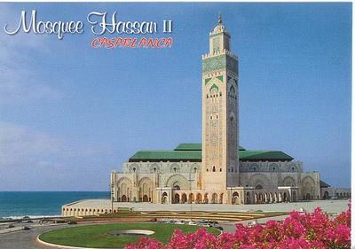 028_Casablanca_Mosquee_Hassan_II_Haut_60m_Minaret_200m_haut