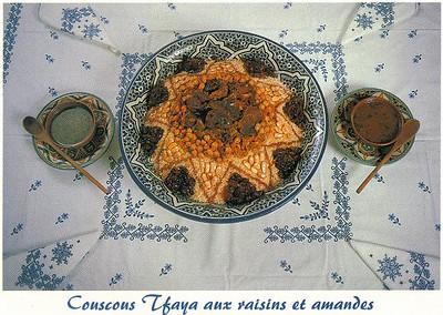 022_Maroc_Typique_Couscous_Tfaya_aux_raisins_et_amandes