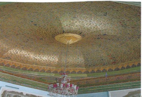 027_Tunis_Musee_du_Bardo_Plafond_de_la_salle_des_fetes