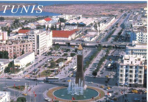017_Tunis_Place_du_7_Novemebre_Changement_President_1987