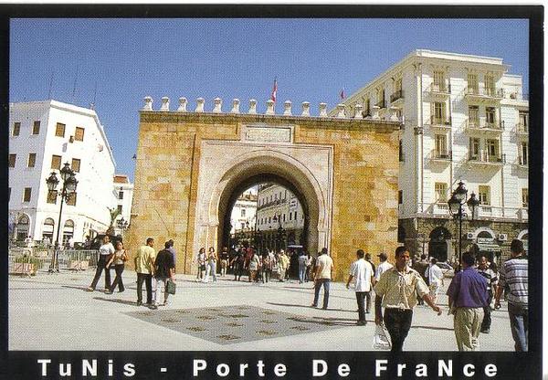 018_Tunis_La_Porte_de_France_19ieme_siecle
