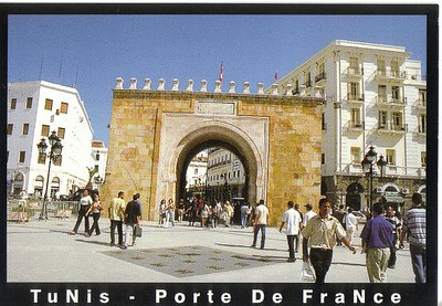 018_Tunis_La_Porte_de_France_19ieme_siecle