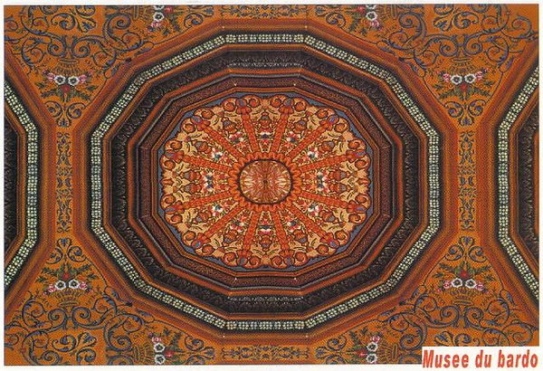 026_Tunis_Musee_du_Bardo_Plafond