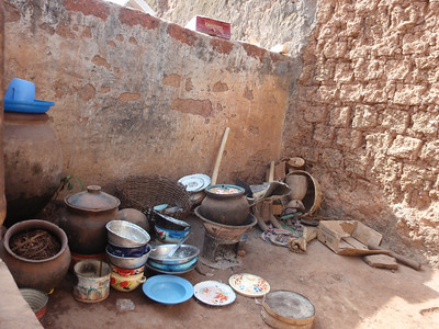 033_Bobo-Dioulasso  The Old Quarter of Kibidwe  Cooking Equipment