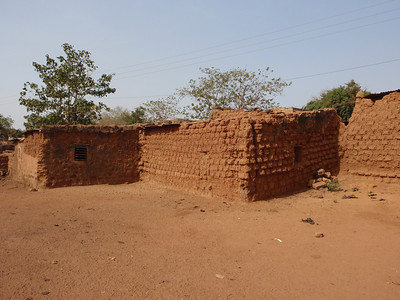 034_Bobo-Dioulasso  The Old Quarter of Kibidwe  Traditional Buildings