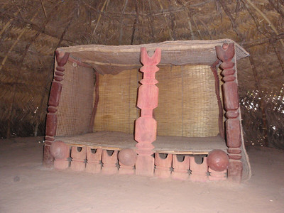 063_Fulani Tribe Habitat  Sitting and Sleeping Place