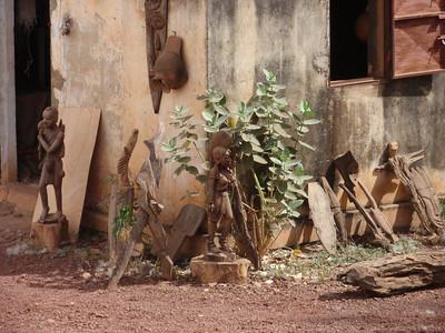 065_Bobo_Dioulasso  Houet Provincial Museum  Woodcarvings