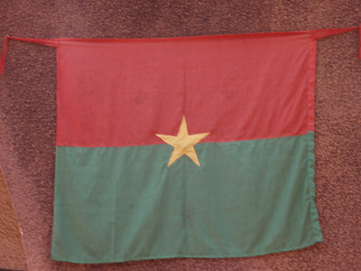 006_Burkina Faso Flag  Not Fully Converted to Islam or Christianity
