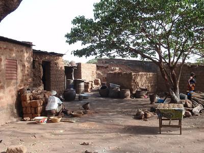016_Bobo-Dioulasso  The Old Quarter of Kibidwe  Mudbricks Buildings