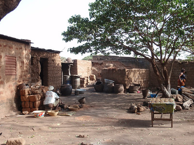 016_Bobo-Dioulasso  The Old Quarter of Kibidwe  Mudbricks Buildings