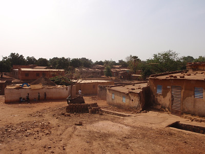 030_Bobo-Dioulasso  The Old Quarter of Kibidwe  Traditional Buildings