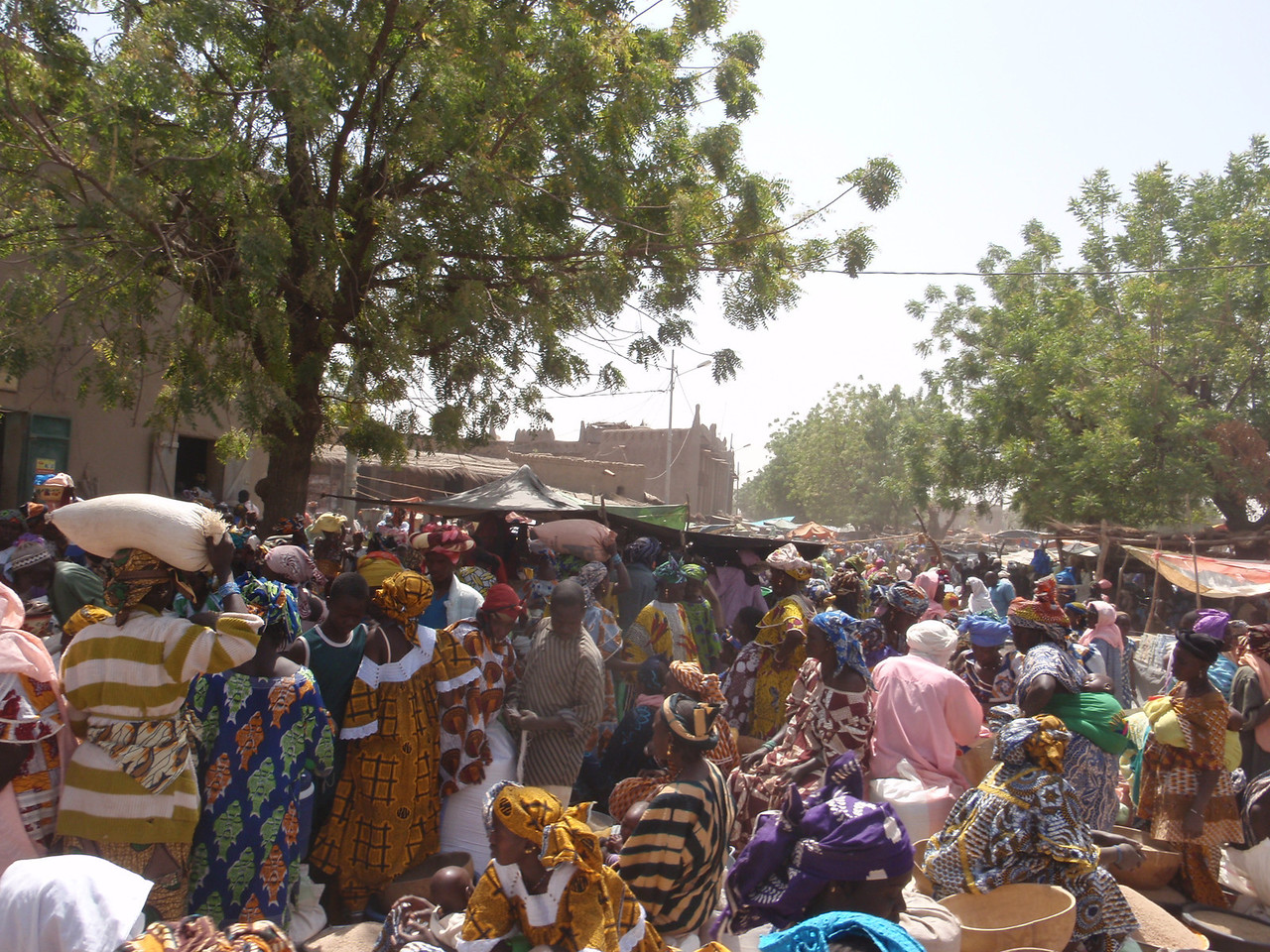152_Djenne Old Town  The Bustling and Colourful Monday Market
