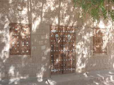 098_Timbuktu  Elaborate Windows and Doors with Metal Objects