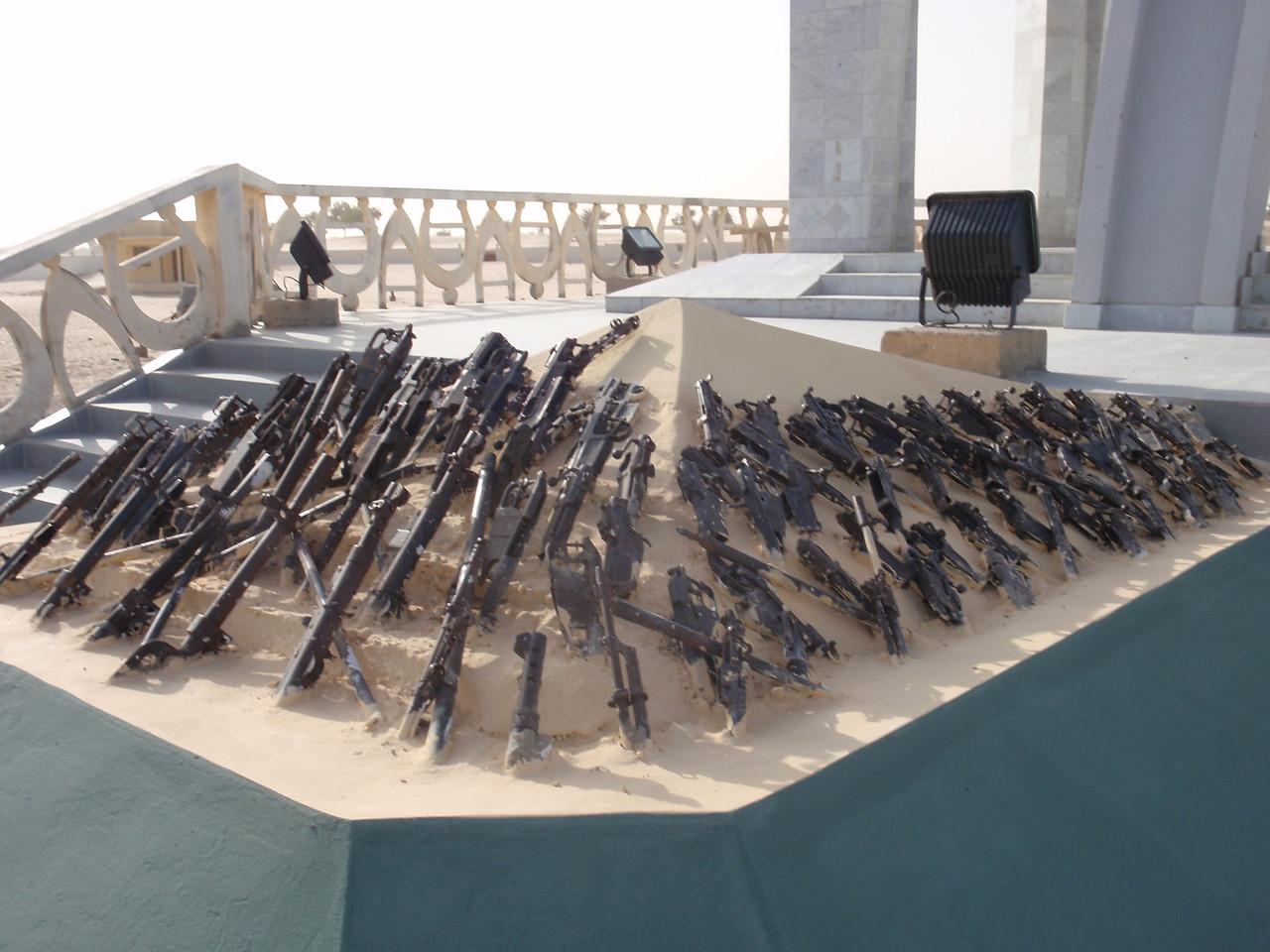 136_Flamme de la Paix Monument  3000 Weapons were Burned