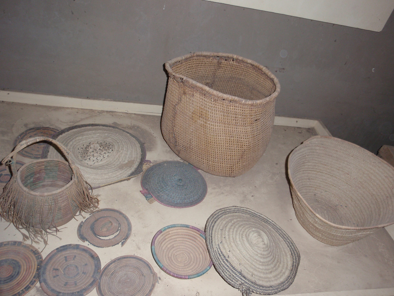 060_Timbuktu  Municipal Museum  Thatch Weaving
