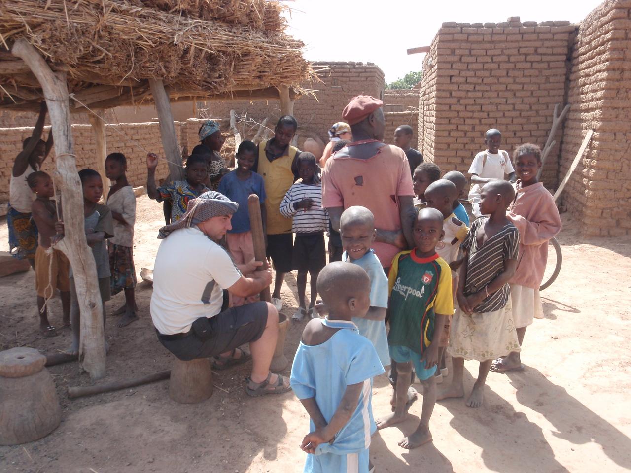 232_Parandougou   Bobo Tribe  JDP Pounding Millet