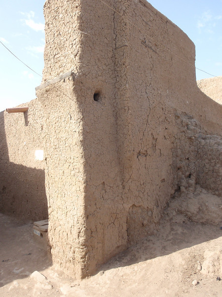 178_Djenne Old Town  Surrounded by Decaying Mudbrick Walls
