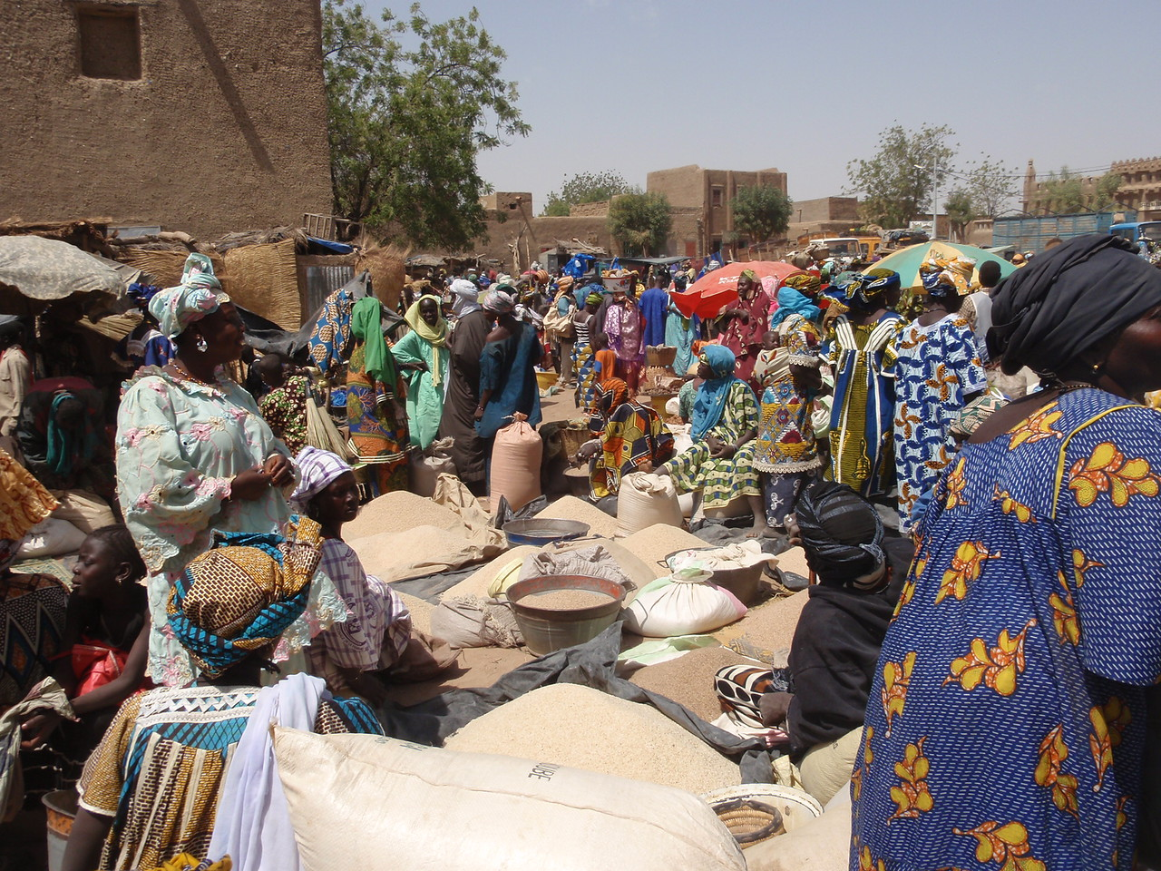 161_Djenne Old Town  The Bustling and Colourful Monday Market
