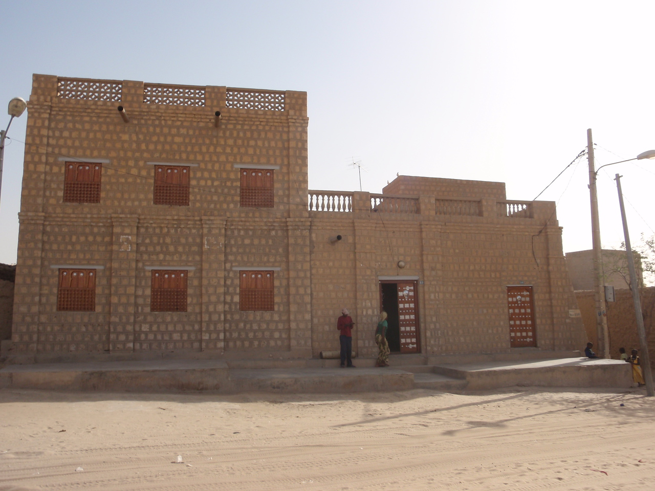 134_Timbuktu  The Marabout House