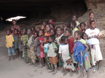 523_Bongo Village  Enormous Natural Cave Tunnel  Children Choir