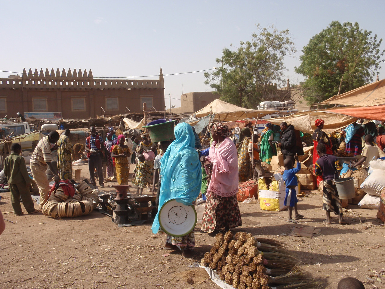 158_Djenne Old Town  The Bustling and Colourful Monday Market