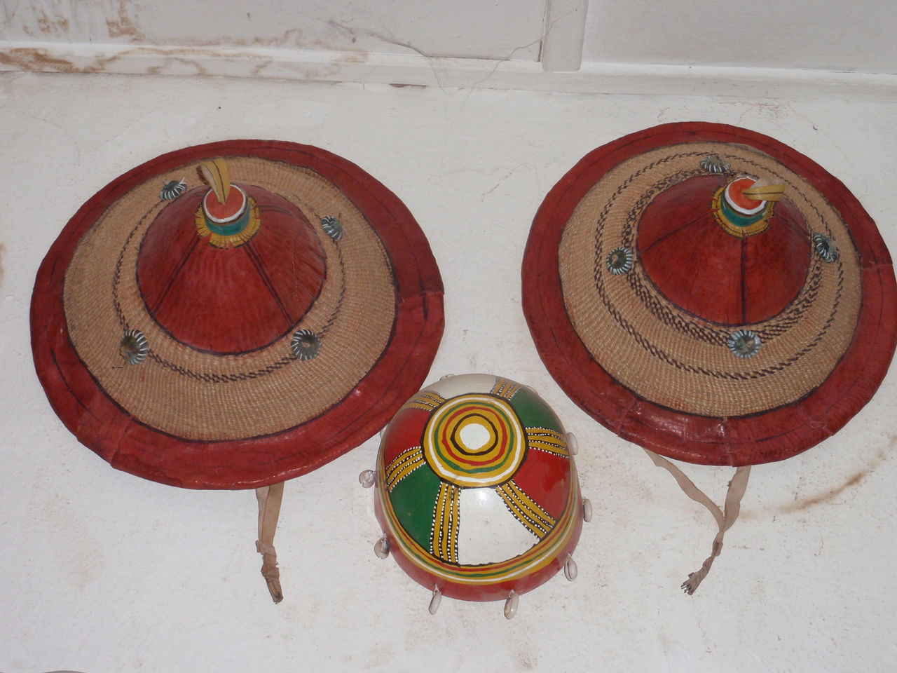 305_Mopti  The Craft Centre  Traditional Farmer Hats