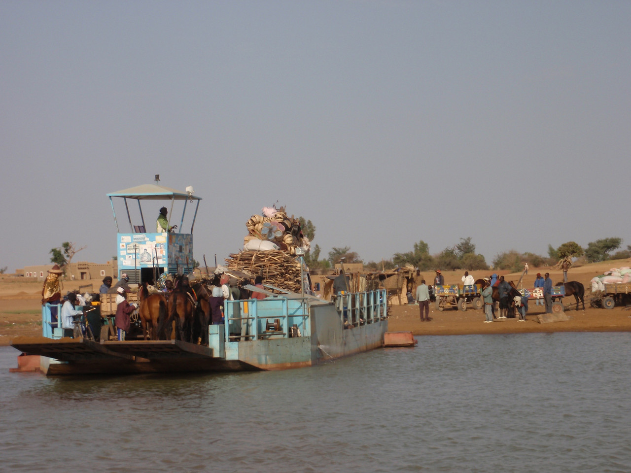 145_Djenne  Built on an Island of the Bani River
