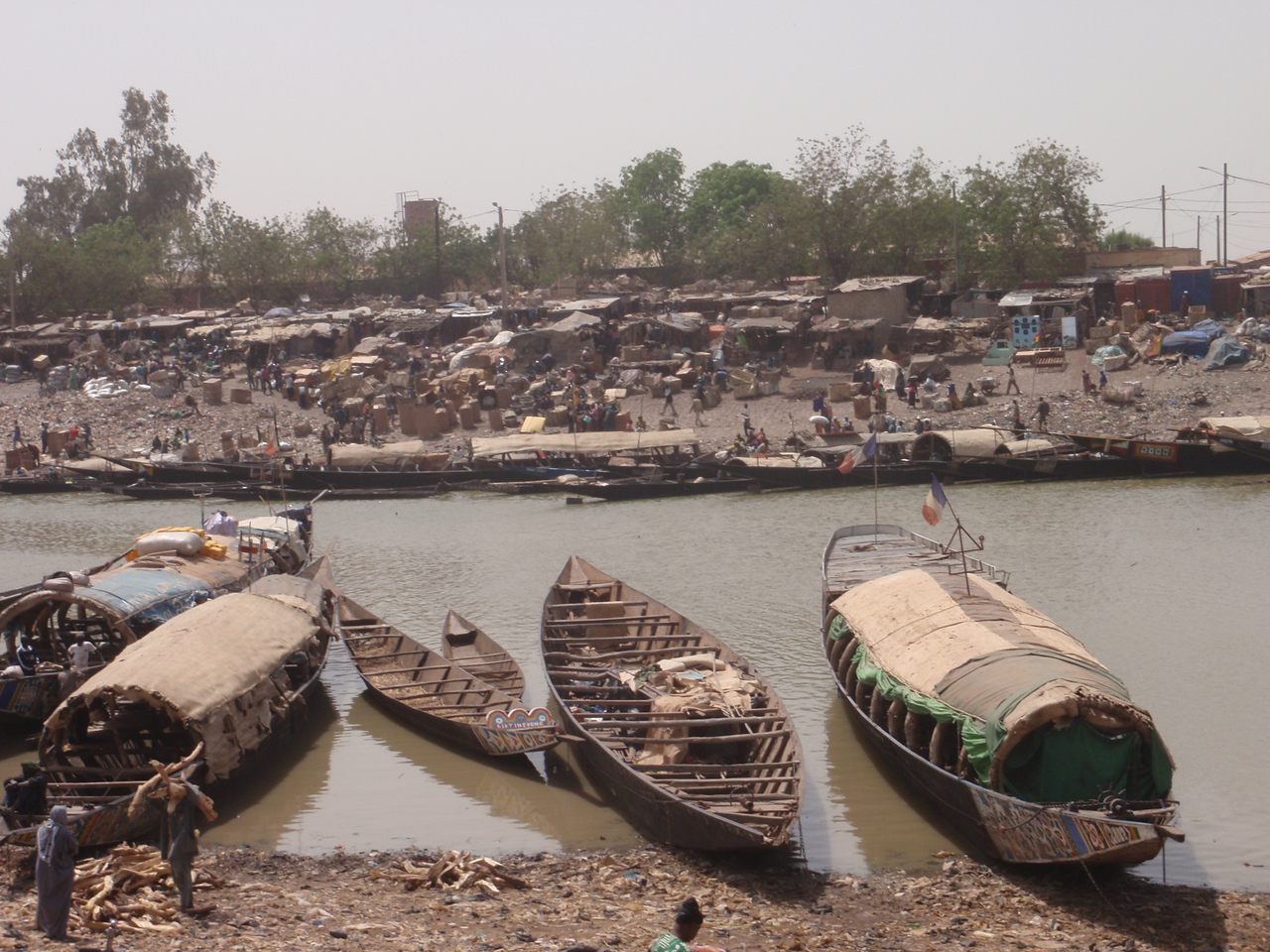 318_Mopti  One of West Africa's Largest River Port