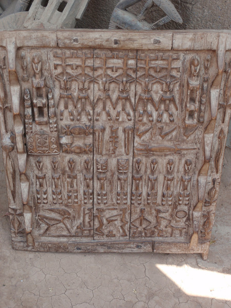 212_Djenne  Imaginative Woodcarvings  Their Vision of the World