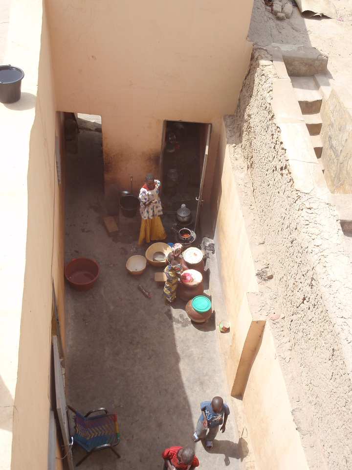 288_Mopti  The Colourful Old Town  Private House Courtyard